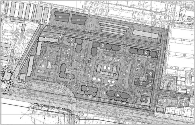 Проект планировки территории (фрагмент)
