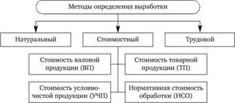 Условно-натуральный метод измерения производительности труда проблема
