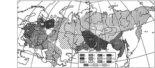 Неолитические культуры и культурные области Евразии (6-3 тыс. до н.э.)