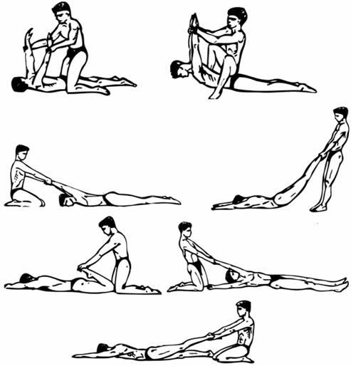 Упражнения на гибкость для начинающих с картинками