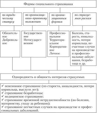 Понятие формы и виды социального обеспечения реферат 6112